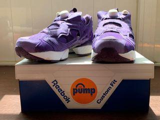 Reebok Pump Fruy 紫色變形蟲🦠日本購入(極少穿)