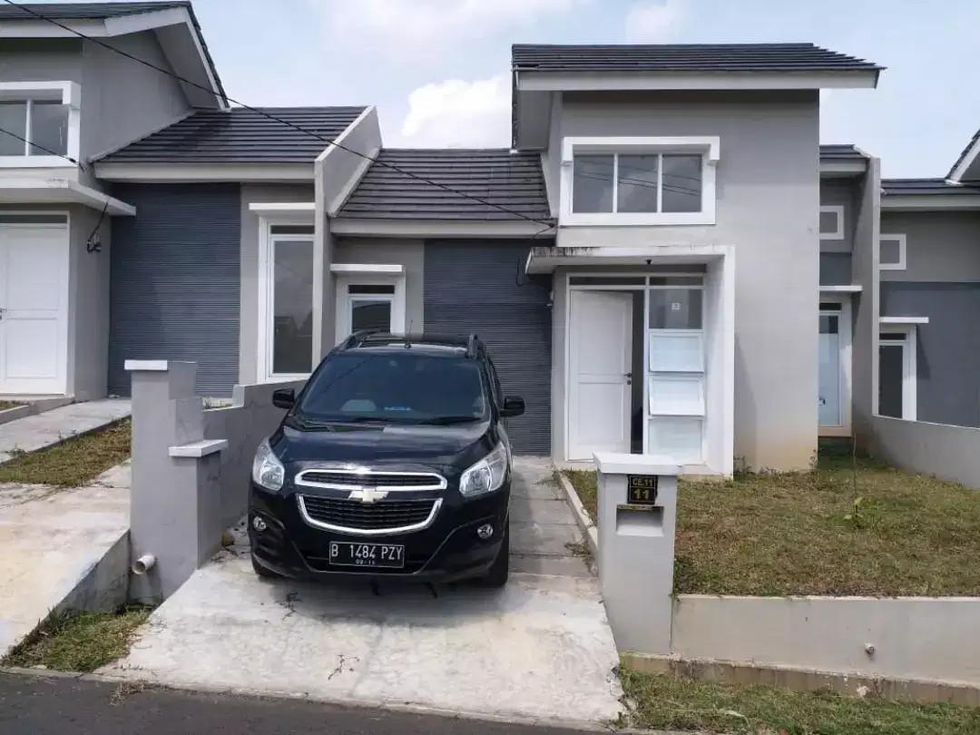 Rumah Baru Siap huni dijual dlm cluster di Citra Indah Jonggol, Bogor