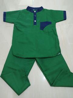 Setelan Baju Koko Turki dan Toyobo anak usia 2-3 tahun