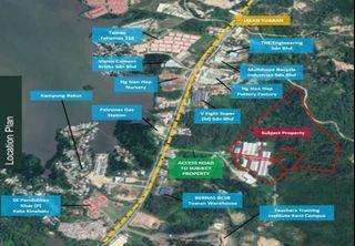 Tanah untuk di jual Tuaran Sabah 45ekar
