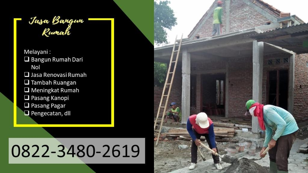 TERMURAH    0822-3480-2619   Biaya Kontraktor Bangun Rumah di Blitar, PANDAWA AGUNG PROPERTY