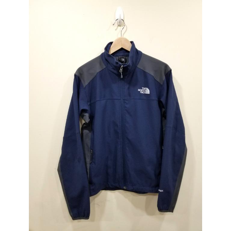 The North Face | Blue Zip Long Sleeve | M