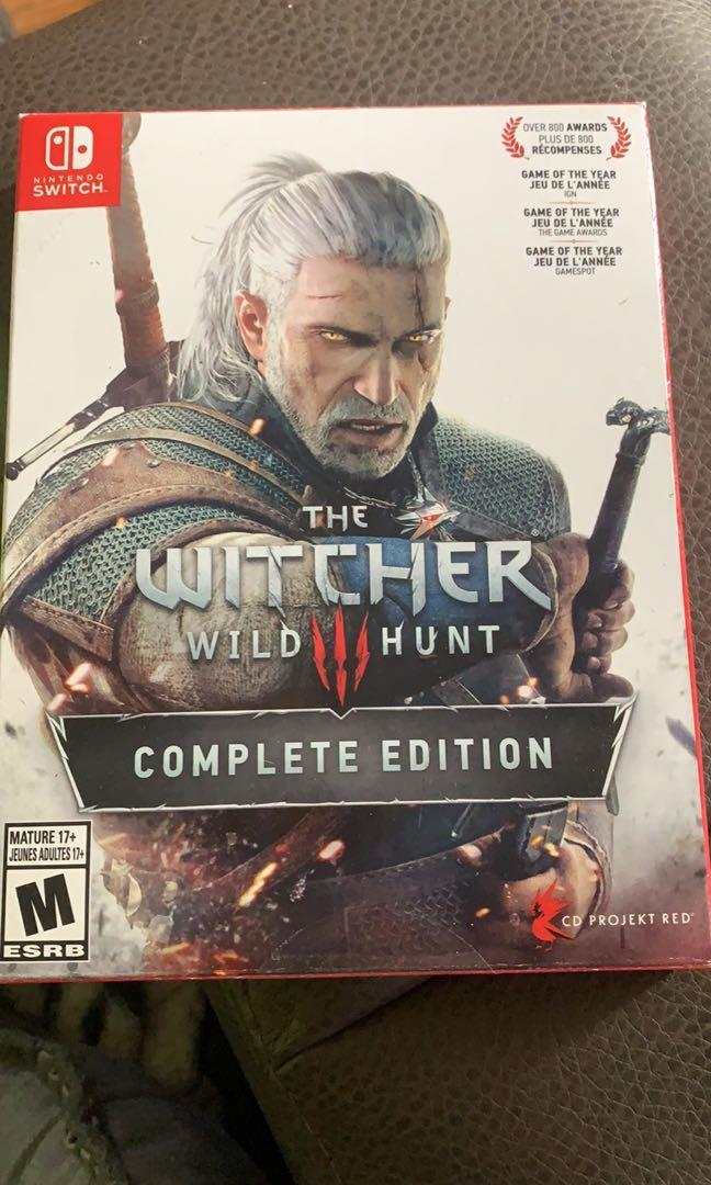 The Witcher.  Complete edition