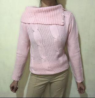 Turtle Sweater Rajut Kepang