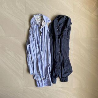 Zara Man 商務 休閒 襯衫 M號