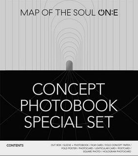 《1st PO Secured Sharing》BTS map of the soul ON:E photobook