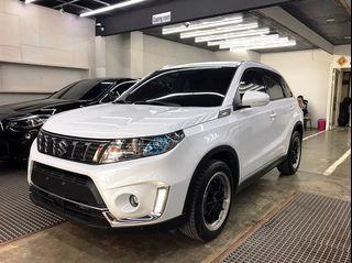 2019 Suzuki Vitara(NEW) S 1.4 可視訊賞車、全新小改款、一手女用、ACC跟車、車偏、盲點、加裝數位電視!