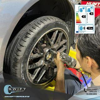 225/40/18 GitiSport S1 Car tyre