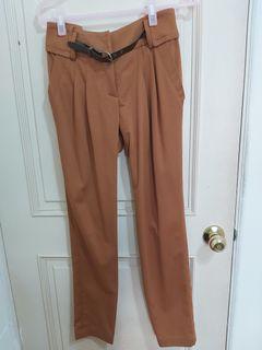 駝色長褲#女裝賣家