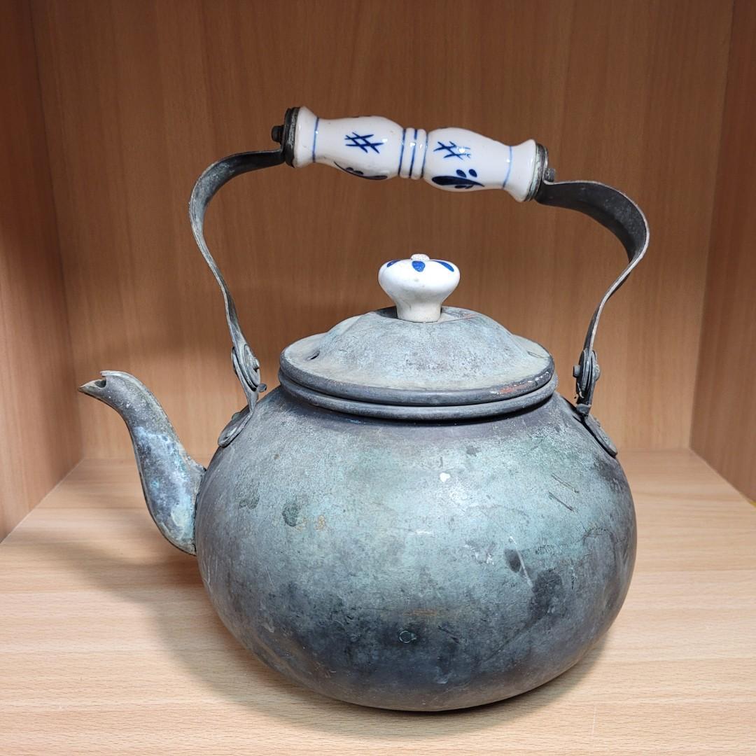 古董銅壺 [懷舊擺飾]