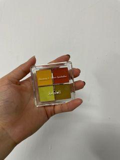九成新 Judydoll橘朵 四色隨心自由組合四色眼影盤 色號24