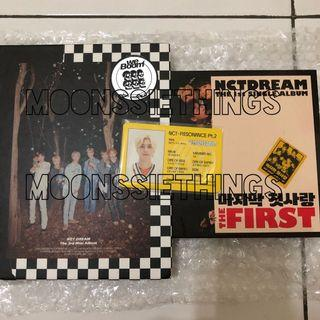 Album only NCT DREAM, ID Card Departure Hendery [BACA DESKRIPSI]