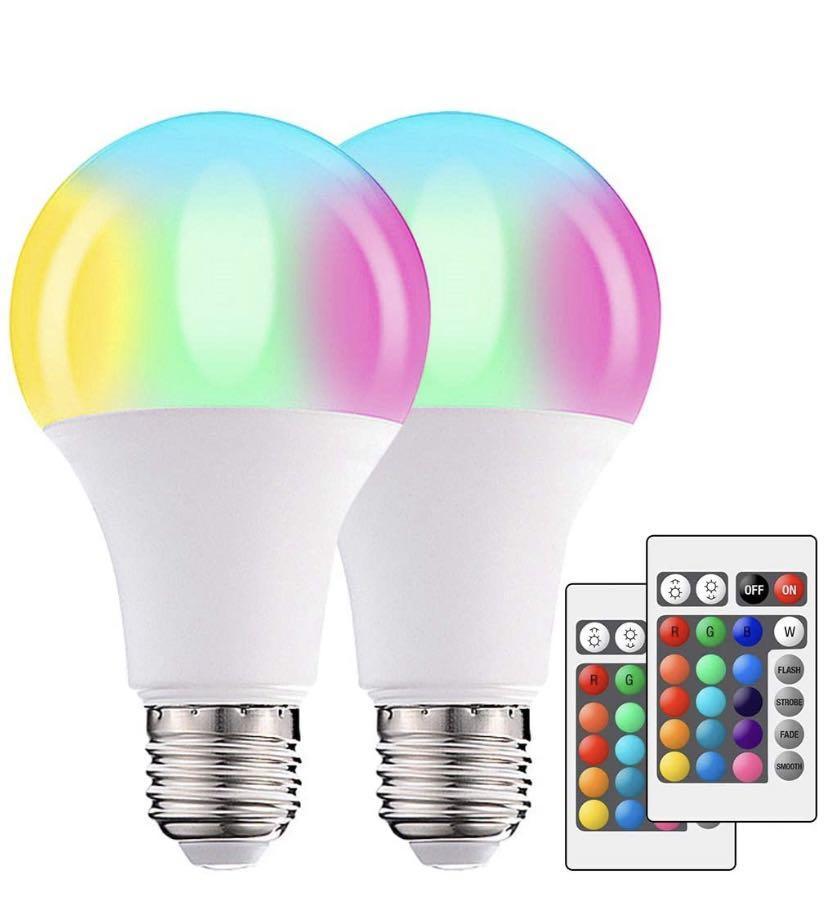 Brand new LED Light Bulb E26 10W RGBW Color Changing Light Bulbs