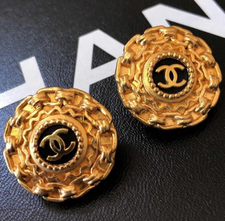 Chanel vintage2組耳環