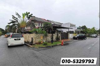Double Sty Corner 38x70 Tmn Bg Negara - Fully Renovated