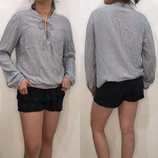 Gap blouse & Low rise short