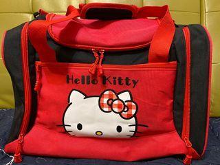 正版三麗鷗HELLO KITTY大容量旅行袋