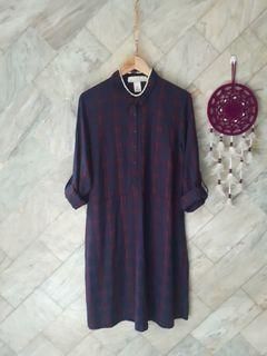 H&m flannel dress