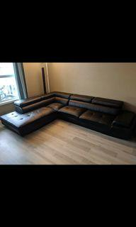 L sectional couch