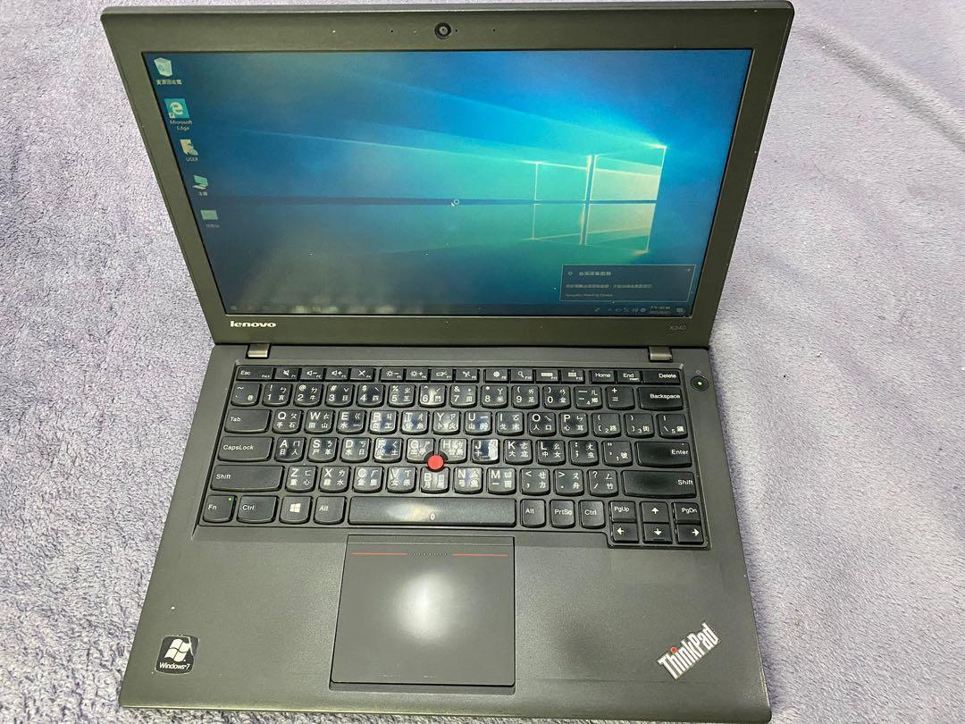 "Lenovo x240輕薄商務二手筆電i5四代/4GRAM/500GHHD/intel HD/12.5""HD"