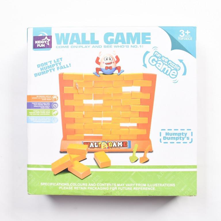 Mainan Anak Kiddy Fun Wall Game Puzzle Humpty Dumpty's