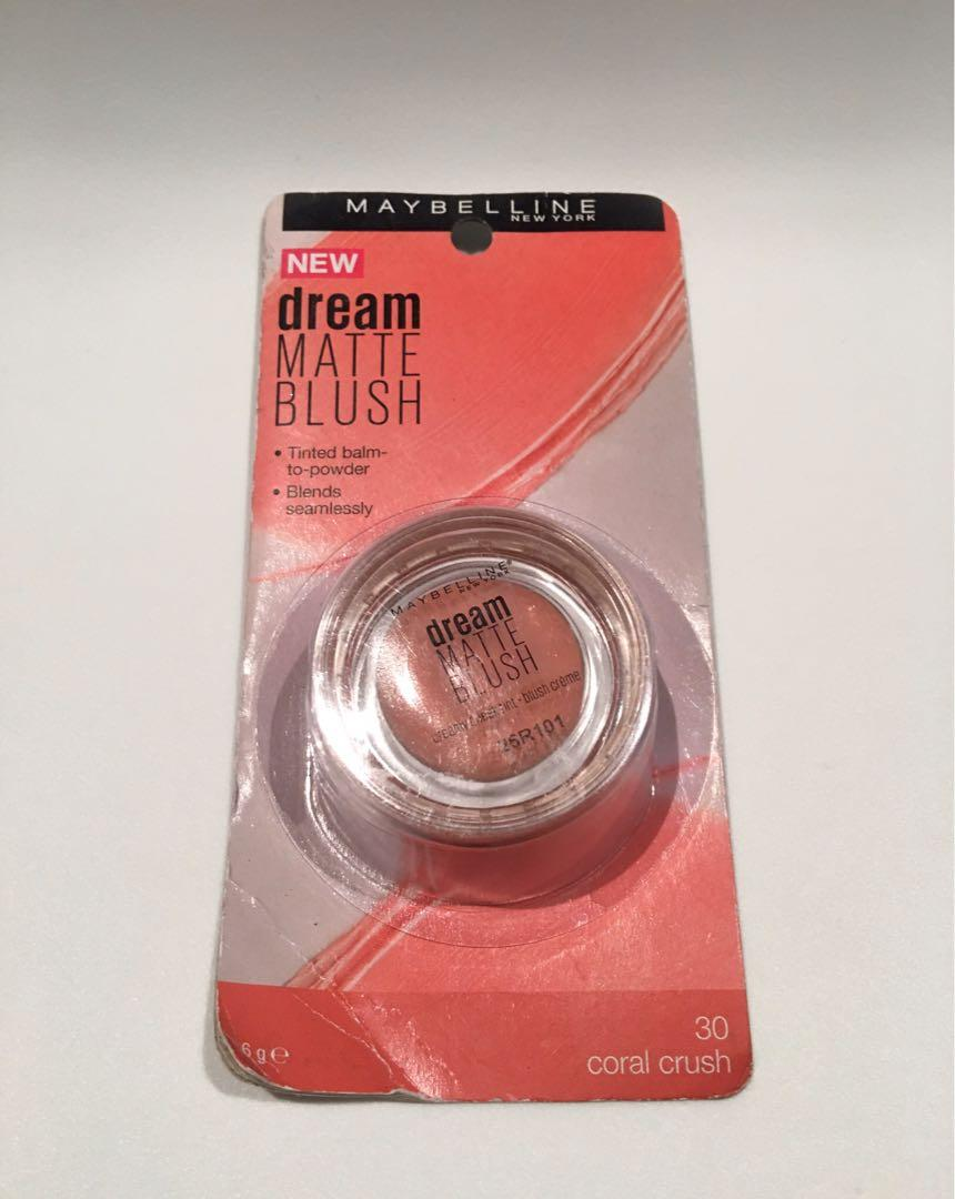 Maybelline New York New Dream Matte Blush #30 Coral Crush 6g