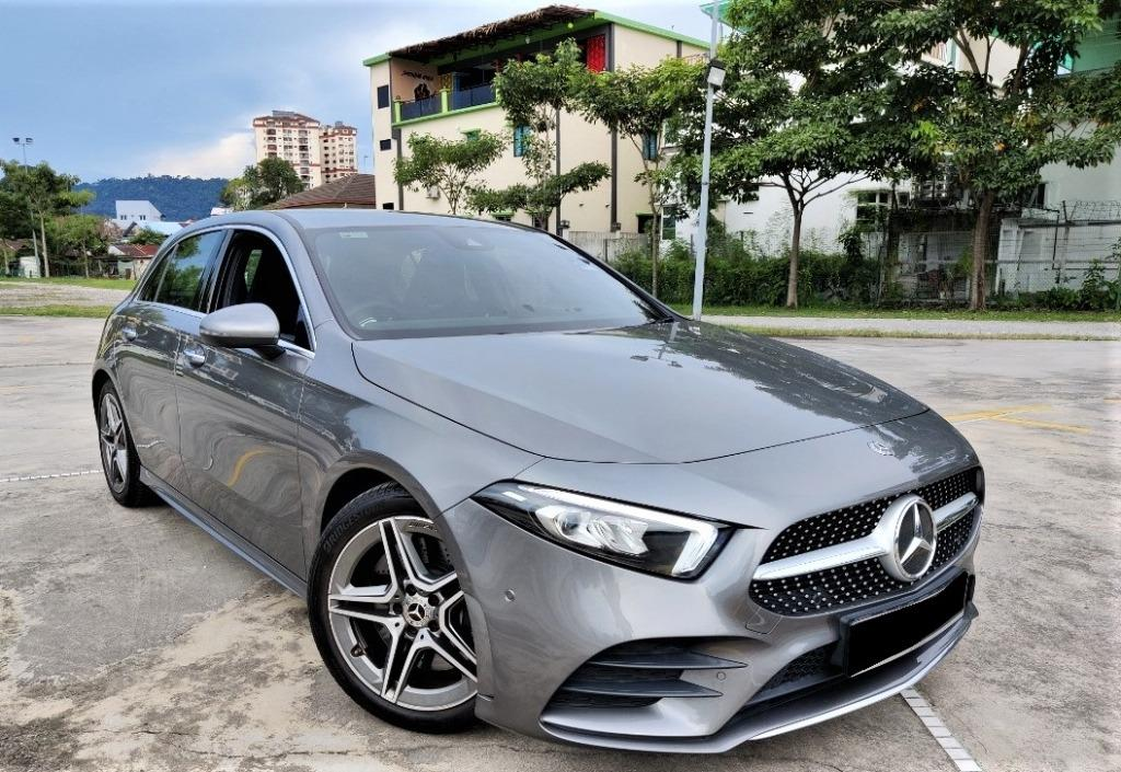 Mercedes-Benz A250 2.0 AMG Hatchback [4 YEARS FREE SERVICE][5000 KM ONLY][LIKE NEW][UNDER WARRANTY]
