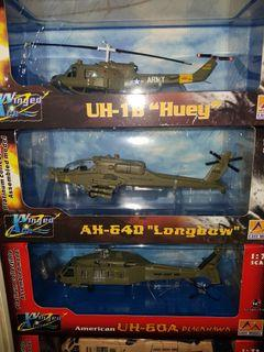 Military Attack Helicopter Set