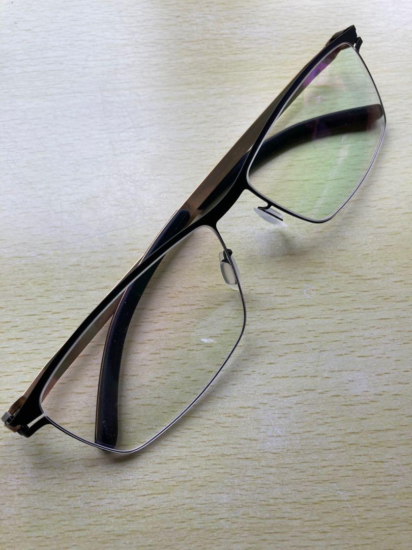 Mykita黑框霧金時尚眼鏡