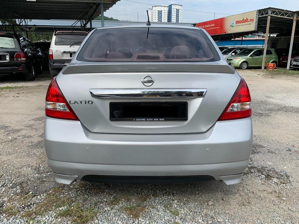 Nissan Latio 1.8 TI Sedan ( AT ) FULL IMPUL BODYKIT