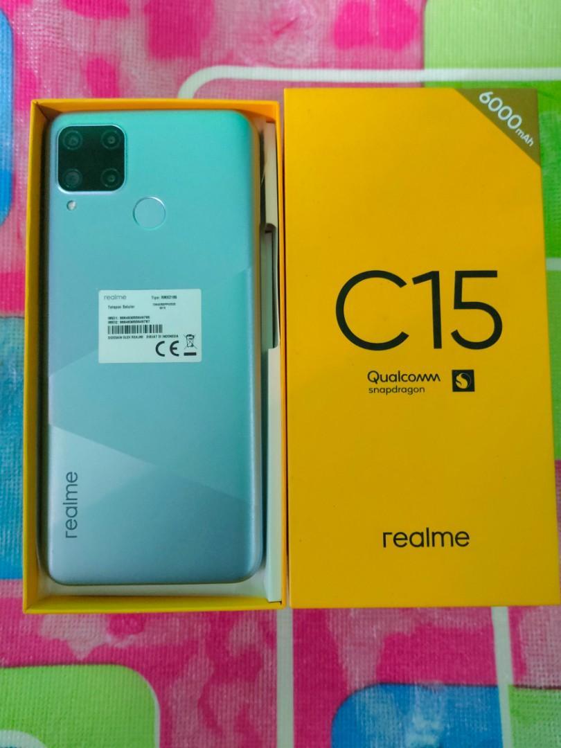 Realme C15 Qualcomm Snapdragon Fullset