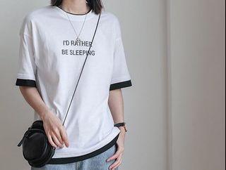 白色短袖T-Shirt