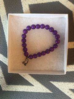 Wanderlight Purple Musical Note Bracelet
