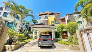 [WTS] 3 Storey Semi Detached House Villa Green Tropicana