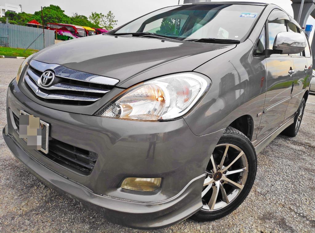 2009 Toyota Innova 2.0 (A) BIackIist Ct0s B0leh L0aN KeD@i dP 3990