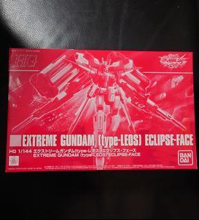 高達模型: 魂限1/144 Gundam VS EXTREME GUNDAM (type-LEOS) ECLIPSE-FACE