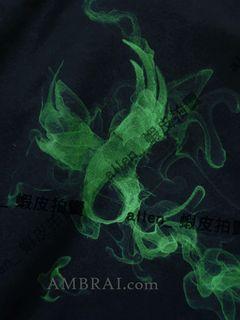 【AMBRAI.com】 4/24 REMIX SPIRIT LOGO TEE 黑 綠 煙燻 短袖 10支 短T 厚T T恤
