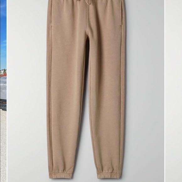 Aritzia boyfriend cozy fleece sweatpants