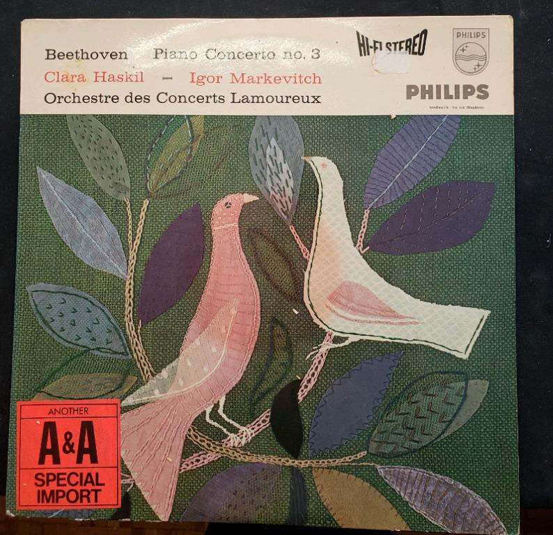 Beethoven piano concerto no.3 Vinyl Record