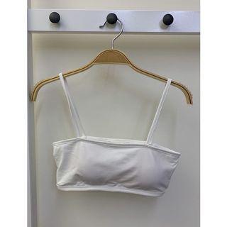 全新Bra top 白大推款《小姐姐韓國代購》正韓平口高質感親膚bra top