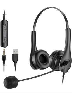 Brand new USB Headset with Noise Cancelling Microphone