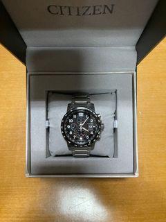 Citizen Eco-Drive Radio Controlled CTZ-B8162 Men's Watch (Jam Tangan Citizen) with Box