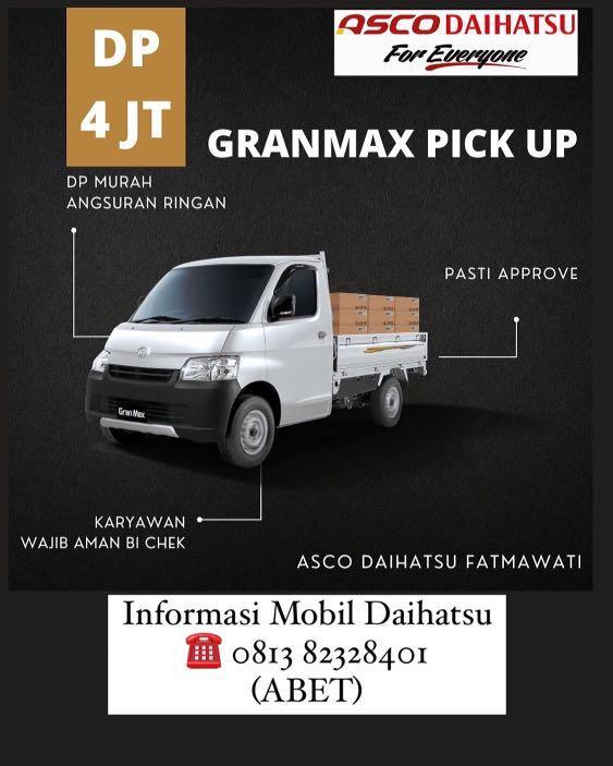 DP MURAH Daihatsu Pick Up mulai 4 jutaan. Daihatsu Fatmawati