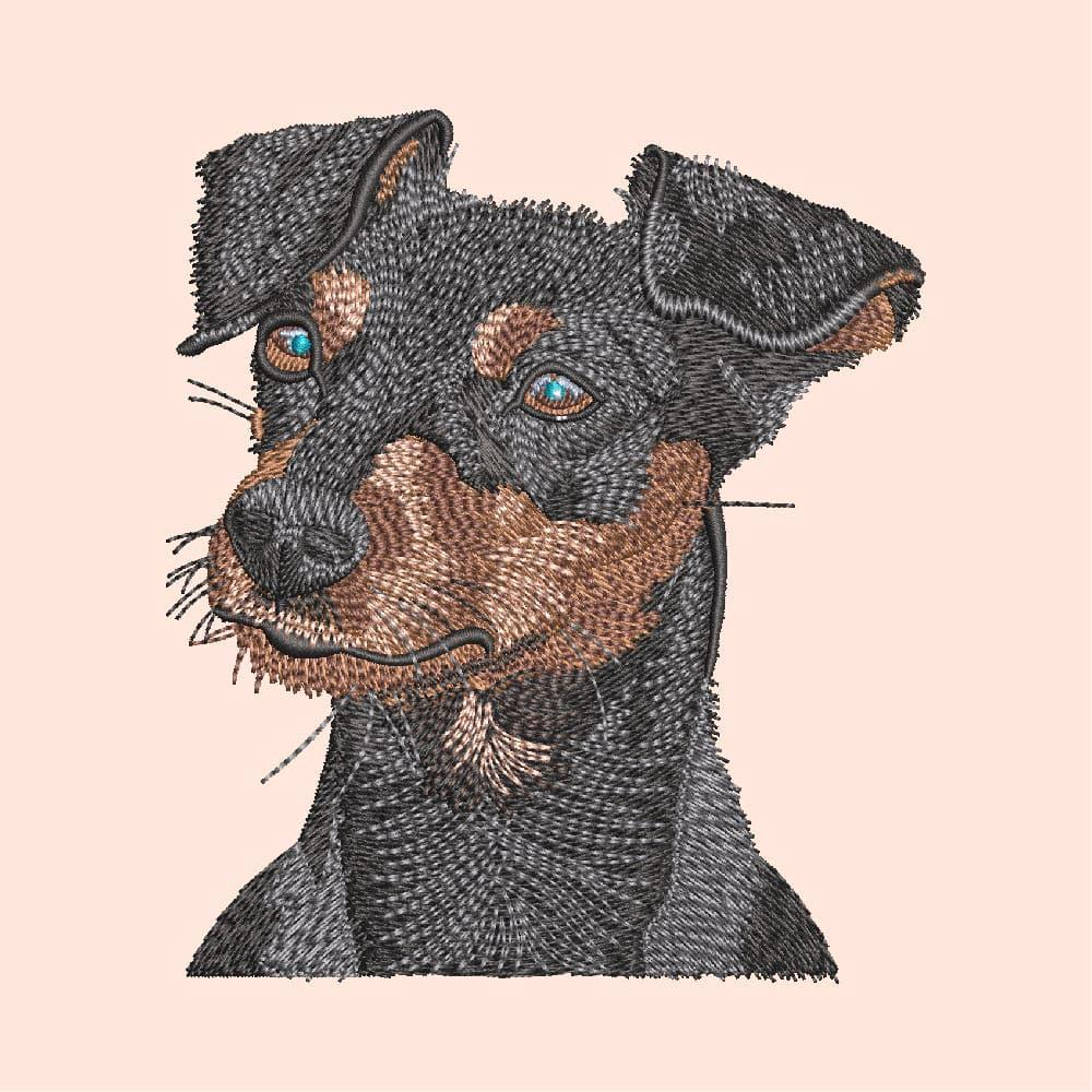 Embroidery Design: Rocky My Name