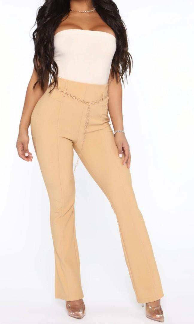 Fashionnova beige pants