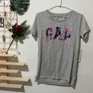 GAP 花卉logo 短袖 S