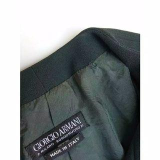 Giorgio Armani Made in italy blazer wanita jas