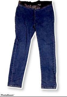 #Diskonlebaran Soft Jeans pinggang karet