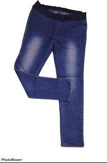 Jeans pinggang karet #2