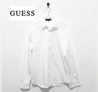 Kemeja Putih Guess